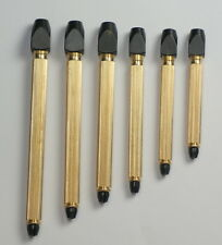SET OF 6 PIN VICES  0mm - 4mm drills jewellers clockmakers hobby repairs drill