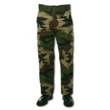 Pantalon treillis grand froid doublé en polaire t. 52 camo C/E Armée Française