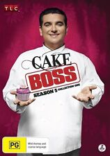 Cake Boss : Season 5 : Collection 1 (DVD, 2013, 2-Disc Set Region 4