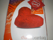 HARMONIUS CHARM RED WITH PRINTED DESIGN BEAN BAG NEW