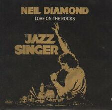 NEIL DIAMOND  Love On The Rocks & Acapulco (THE JAZZ SINGER) PICTURE SLEEVE NEW