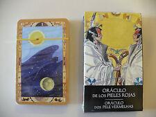 ORBIS FABBRI RED SKINS ORACLE ORACULO PIELES ROJAS PELLEROSSA  TAROT CARDS DECK