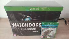 WATCH DOGS DEDSEC DED SEC EDICION COLECCIONISTA XBOX ONE X PRECINTADA NUEVA