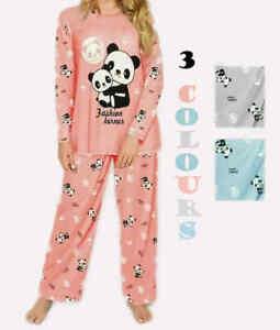 Ladies Women Pyjamas pj Set Long Sleeve Nightwear Cotton Sleepwear Lounge Wear