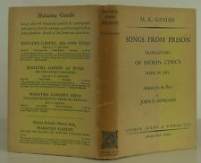 M.K. GANDHI Songs from Prison FIRST EDITION