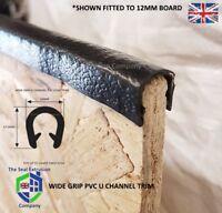 EDGE TRIM - Interior Exterior - PVC EDGING Rubber fits 10mm to 12mm