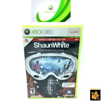 Shaun White Snowboarding (2008) Ubisoft Xbox 360 Game Case Disc Tested Works A