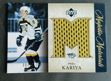 Paul Kariya 2005-06 UD Majestic Materials Jersey 9/50 #MM-PK