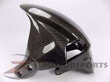 2005 2006 CBR600RR Front Tire Fender Mud Guard Fairing Cowl 100% Carbon Fiber