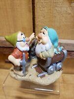 """Disney Store Seven Dwarfs Lil Classics 3"""" PVC CE#504 """"Mine Train"""" Retired Doc"""