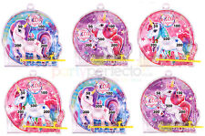 6 Unicorn Pinball Games - Pinata Toy Loot/Party Bag Fillers Wedding/Kids Girl