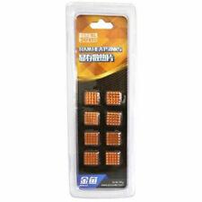 RHS-03 Copper DDR DDR2 DDR3 Memory Cooler VR Ram Heatsinks (Pack of 8) 13x12x5mm
