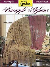New listing New Pineapple Afghans Mccall'S Crochet 4 Designs Crochet Pattern Leaflet