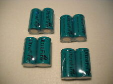 8 x UltraFire RCR123A CR123A Lithium Ion 3 Volt Battery 3,0 Volt ICR