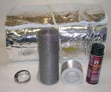 """Insulation Kit for Flexible Chimney Liners - 6"""" diameter - 25 feet"""