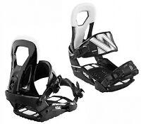 Straptec Initial Marker Vol Bind Snowboard Binders Small-Medium Black/White*AB11