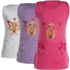 Markenlose ärmellose Mädchen-T-Shirts & -Tops