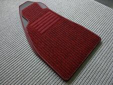 $$$ Lengenfelder Rips Fußmatten für Alfa Romeo Spider 916 + WEINROT + NEU $$$