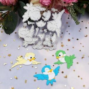 Birds Metal Cutting Dies Stencil DIY Scrapbooking Album Paper Card Template Mold