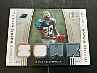 2007 Upper Deck Ultimate Rookie Materials (Dwayne Jarrett)~~GU Jersey card