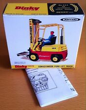 Dinky 404 Conveyancer Fork Lift Truck Empty Repro Box & Instructions Only