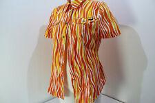 Laurel  Bluse weiß, orange, gelb  ❤️   Gr. 40 ausgefallen