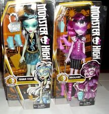 Monster High Day to Night Frankie Stein & Draculaura Dolls New