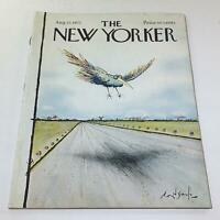 The New Yorker: August 27 1973 - Full Magazine/Theme Cover Ronald Searle