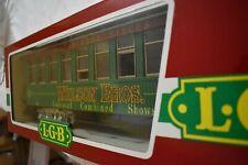 LGB G GAUGE 3180 DG Passenger Green Coach Car WITH  BOX