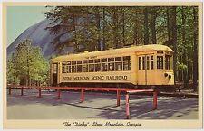 """The Dinkey"" Stone Mountain Scenic Railroad Trolley Car, Georgia"