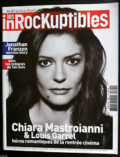 Les Inrockuptibles du 24/08/2011; Louis Garrel & Chiara Mastroianni/ Orelsan