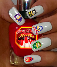 Super Heroes Minions Nail Art Stickers Transfers Decals Set of MN006-38