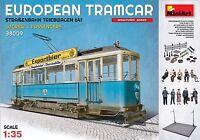 MiniArt - 38009 - European Tramcar w/Crew & Passengers - 1:35