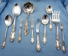 King Richard by Towle Sterling Silver Flatware 10 Serving Pieces Set , No MONO
