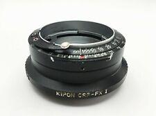 Kipon Adapter CRF-FX I for Contax RF to Fujifilm Fuji X-PRO1 X-PRO2 X-E1 X-E2
