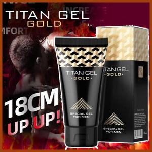 ✅Penis Enlarger Male *TITAN* Enhancement Massage Gel Growth Delay Cream ~ 50ml✅