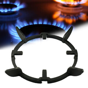 Cast Iron Wok Support Pan Holder Ring Cook Anti skid Stand Gas Hob Rack Cookers