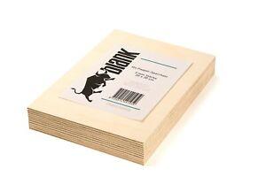 Sperrholz Platten Pappelsperrholz: Laubsäge -Bastelarbeit 3mm 10 Stück 20x30 cm