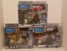 Jakks Godzilla King Of The Monsters Lot of 3 battle packs Ghidorah  Rodan Mothra