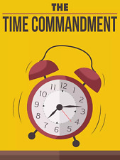 The Time Commandment Ebook With Master Resell Rights PDF Format Free shipping