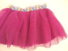 Disney Frozen Elsa and Anna Purple Pink Toddler Girl Tutu Tulle Skirt size 3T