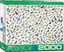EG82200821 - Eurographics Puzzle 2000 Pc - The World of Birds, by Sibley