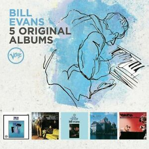 BILL EVANS 5CD NEW Trio 64/Simple Matter/Further Conversations/Montreux/What's