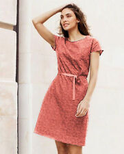 All Seasons Short Sleeve Dresses for Women with Embroidered