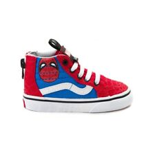 Vans Off The Wall Kids X Marvel SK8-Hi Zip Shoes Spider Man Youth 077f8879e