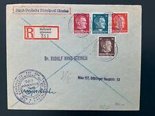 Brief Dienstpost Ukraine 1943 Stempel Tabakwirtschaft nach Wien