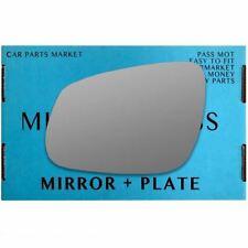 Left Passenger side wing mirror glass for Vauxhall Viva 2015-2017 plate
