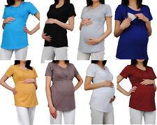 NEU 3in1 Stillshirt Still -Bluse Tunika Umstandstunika S M L Umstandsshirt