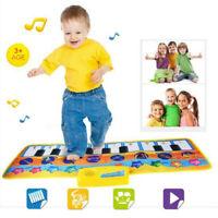 New Play Keyboard Musical Music Singing Gym Carpet Mat Best Kids Baby Gift B