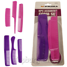 Hair Comb Styling Set Professional Assorted Hairdressing Ladies Barbers Salon